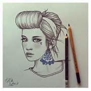 Good Girl Tattoos Tumblr by Girl Tattoo Drawings Tumblr Girls With Good Hair Pictures