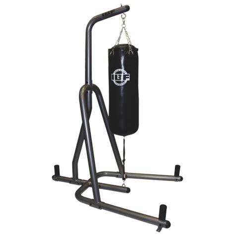 support pour sac de frappe de 100 lb d iron fitness graphite noir boxe et arts martiaux