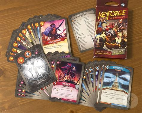 keyforge    procedurally generated card game polygon
