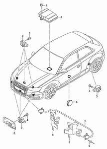 Audi A3 Spare Parts Diagram