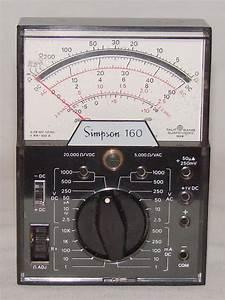 Simpson 160 - Volt - Ohm
