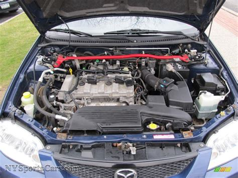 2003 Mazda 6 6 Cylinder Engine by 2003 Mazda Protege 5 Wagon In Midnight Blue Mica Photo 26