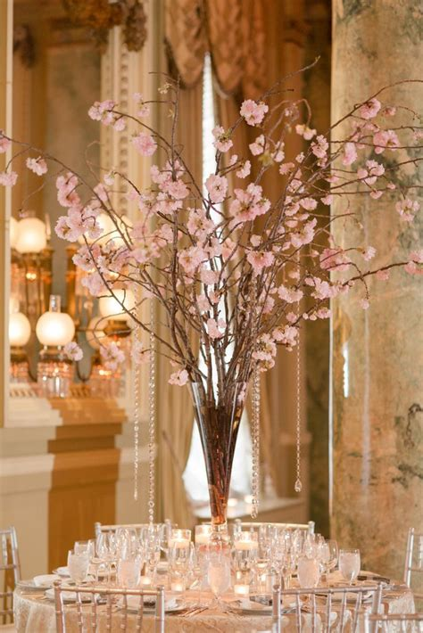 25 Best Ideas About Cherry Blossom Centerpiece On Pinterest