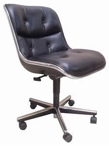 fauteuil de bureau charles pollock annees 70 design With fauteuil design bureau