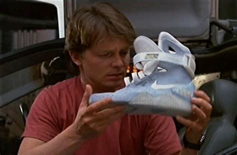 Michael J. Fox's 'back To The Future Ii' Nikes Go Up For