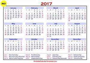 Free Printable calendar 2017 | Printable Calendar Templates
