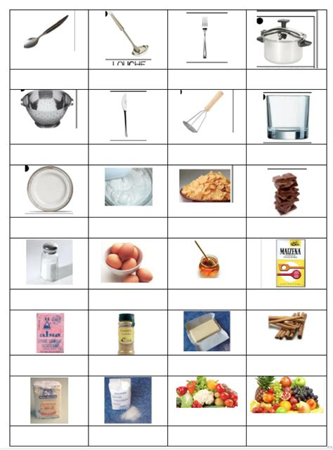lexique ustensiles de cuisine lulu chef de cuisine handicalire