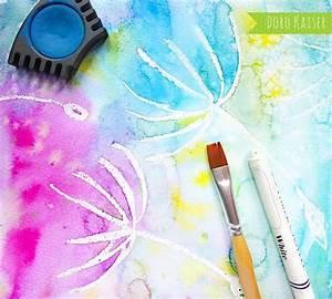 Malen Mit Kindern : malen mit kindern wunderbare pusteblumen mit wasserfarben malen ideen ~ Orissabook.com Haus und Dekorationen