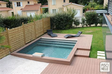 piscine en bois carree reportage photo piscine carree lyon