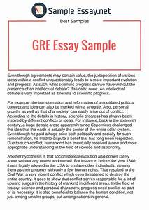 Gre argument essay examples essay writing about environment gre