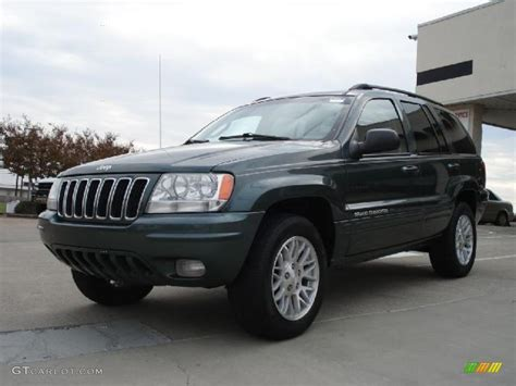 cherokee jeep 2003 onyx green pearlcoat 2003 jeep grand cherokee limited 4x4