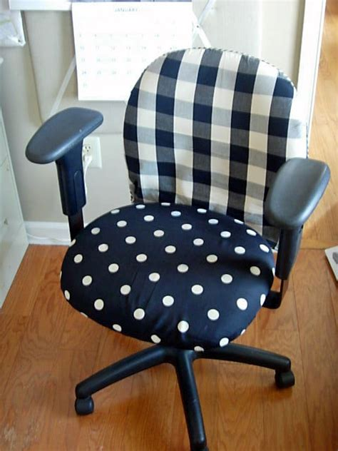office chair slipcover how to brighten up your work space by transforming the chair