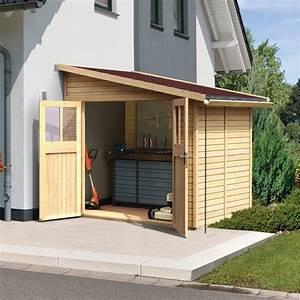 Abri De Jardin Fait Maison : abri de jardin adoss en bois certifi 4 18m bomlitz 2 ~ Dailycaller-alerts.com Idées de Décoration