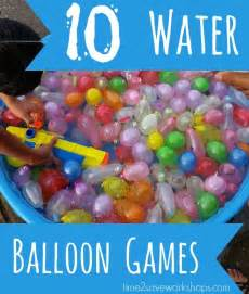 Water Balloon Birthday Party Games