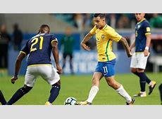 Coutinho marca su cuarto gol con la 'canarinha'