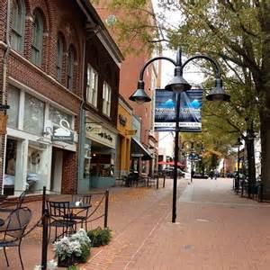 Downtown Mall Charlottesville VA