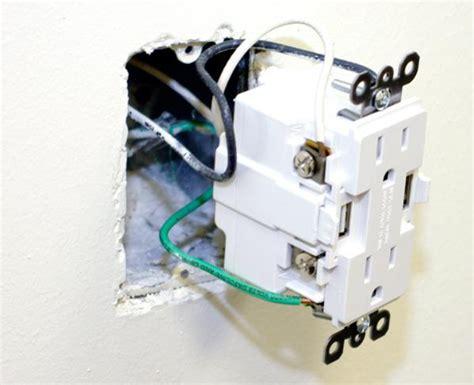 usb receptacle wiring doityourselfcom community forums