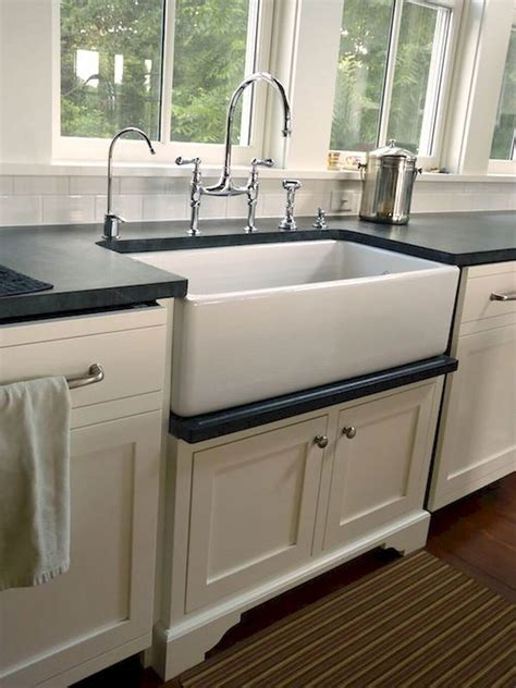 Kitchen Sink Ideas by 26 Farmhouse Kitchen Sink Ideas And Designs For 2019