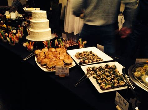 A heavy appetizer menu which includes an assortment of appetizers and a dessert. Heavy Appetizer Menu / Image detail for -Heavy Hors D'Oeuvre menu | Buffet food / Because ...