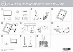 Dell S2419nx Electronics Accessory Quick Start Guide