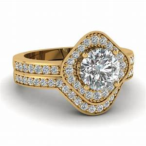 Shop our lovely 14k yellow gold womens wedding rings for Wedding engagement rings for women