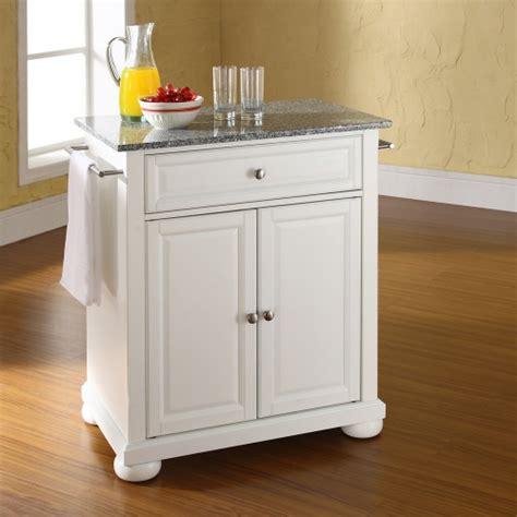 portable kitchen island with granite top crosley alexandria solid granite top portable kitchen 9163