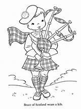 Coloring Scotland Children Around Wales Coloriage Scottish Highland Worksheets Map Dance Ireland Ruit Kleurplaten Schotse Gratis Finland Adult Patterns Denmark sketch template