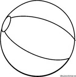 pattern worksheet dibujo de una pelota para la playa dibujos para colorear