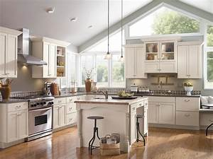 Kitchen cabinet buying guide hgtv for Best brand of paint for kitchen cabinets with large wall art diy