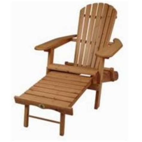 muskoka chair with footrest canadian tire