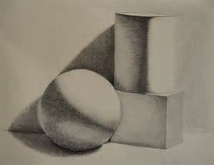 Charcoal Value Drawings