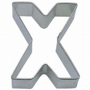 letter x cookie cutter cookie cutter experts since 1993 With large letter cookie cutters