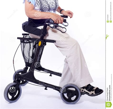 walker elderly sitting walkers woman bodypart seat handicapped seats modern royalty preview dreamstime