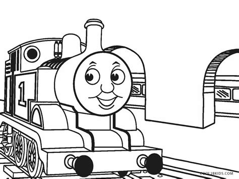printable train coloring pages  kids