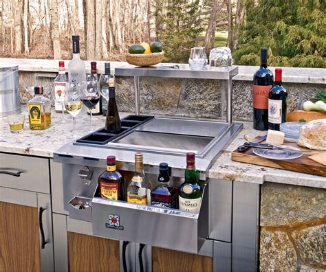 outdoor kitchen island with sink bbq island outdoor kitchen reveal our housetory inside
