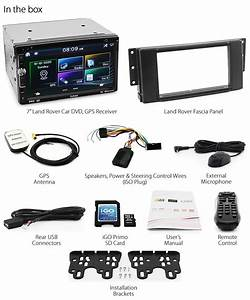 Land Rover Discovery 3 Freelander 2 Car Gps Dvd Player Usb
