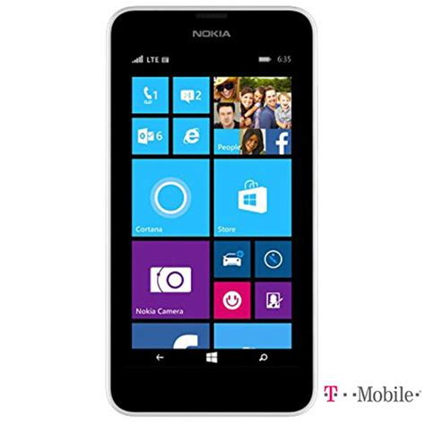 smartphone no contract nokia lumia 635 8gb no contract smartphone for t mobile