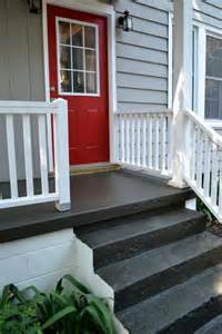 painting a concrete porch newlywoodwards