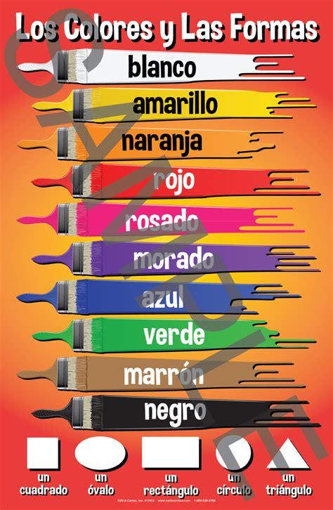 set  basic spanish posters  carlex onlinecom
