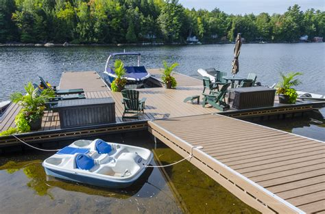 Floating Boat Dock Wheels by Aluminum Floating Truss Docks Waterfront Products R