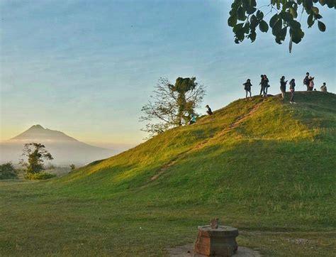 wisata jogja  view gagahnya gunung merapi bakpia