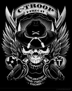 cool army drawings   ARMY SKULL by mr-ss on deviantART   videos/pic's in 2019   Army drawing