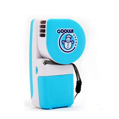 fans that run on batteries glantop mini portable hand held air conditioner cooler fan