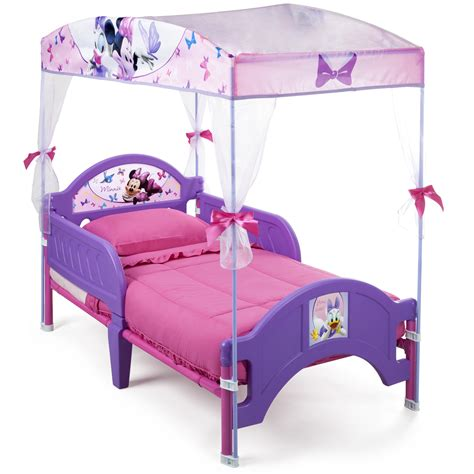 Minnie Mouse Baby Bed by Delta Children Disney Minnie Mouse Plastic Toddler Canopy