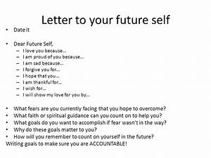 checklist for today tusko recap psychology class rank the With letter to my future self