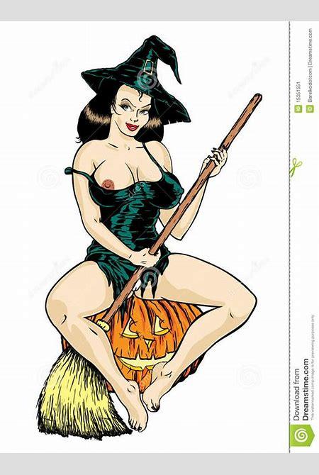 """Vetor. Bruxa """"sexy"""" Super. Imagem de Stock - Imagem: 15351551"""
