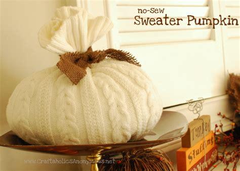 sweater pumpkin