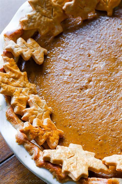pumpkin baking recipes the great pumpkin pie recipe sallys baking addiction