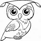 Owl Coloring Cute Pages Owls Graduation Popular Coloringbay sketch template