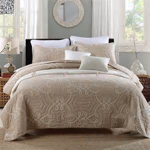 King Size Bed Coverlet by New Coffee Bedspread King Size Bed 100 Cotton
